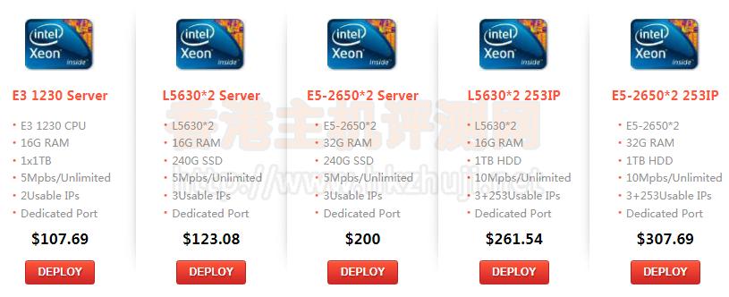 RAKsmart香港服务器黑五大促 仅需123美元/月