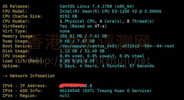 Megalayer香港服务器性能