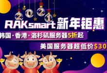 RAKsmart香港服务器新年钜惠抢购价99刀
