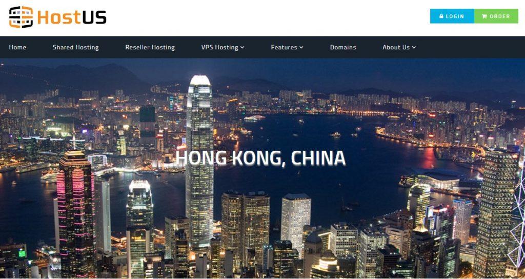 HostUS香港VPS