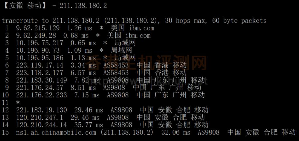 腾讯云轻量香港服务器评测移动回程